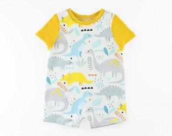 T-Shirt Romper PDF Sewing Pattern