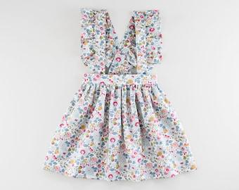 Ruffle Suspender Skirt PDF Sewing Pattern