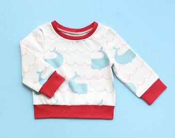 Easy Sweatshirt PDF Sewing Pattern