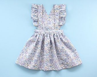 Flutter Pinafore Dress PDF Sewing Pattern