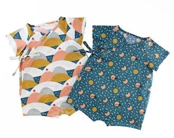 Wrap Up Romper PDF Sewing Pattern