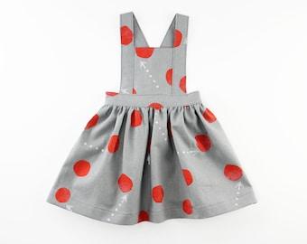 Pinafore Dress PDF Sewing Pattern