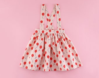 Suspender Skirt PDF Sewing Pattern