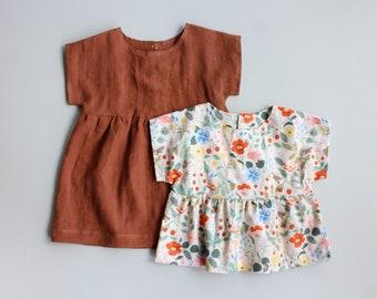 Nora Top + Dress PDF Sewing Pattern