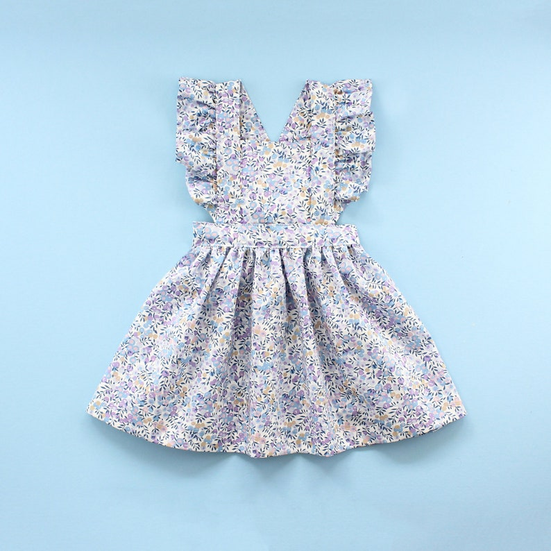 Flutter Pinafore Baby Dress PDF Sewing Pattern