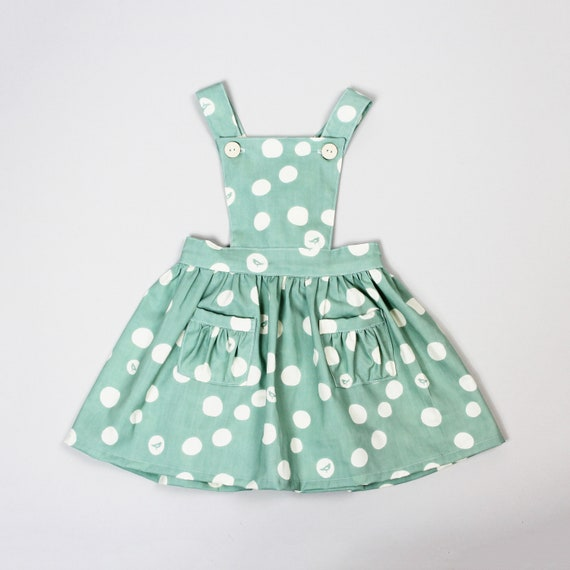 Baby Pinafore Dress Pdf Sewing Pattern Toddler Dress Girl Etsy