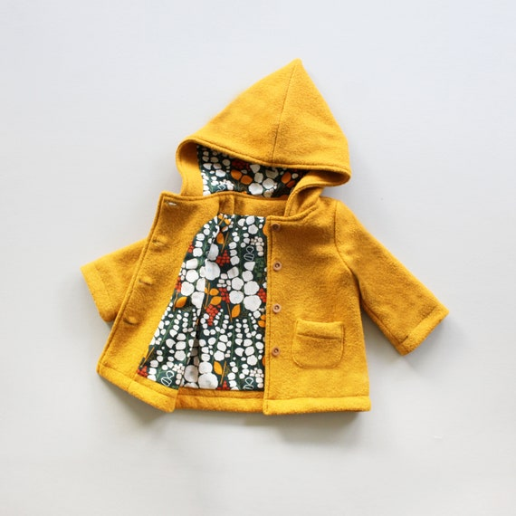 Pixie Hooded Coat PDF Sewing Pattern
