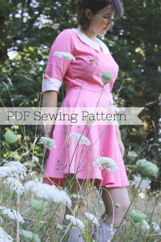 Suzy Bishop PDF Sewing Pattern Moonrise Kingdom Dress