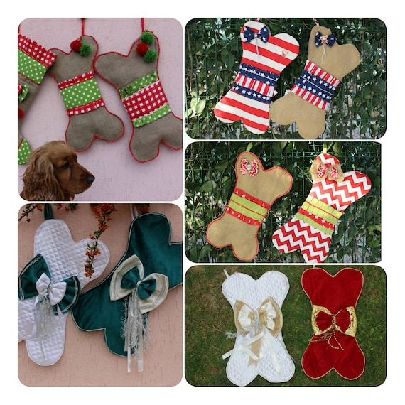 Christmas Pet Stocking For Your Dog or Cat Please Specify When Ordering New!