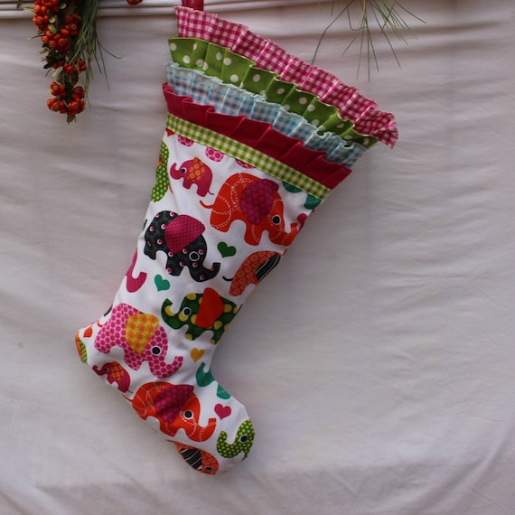 image 0 - Girls Christmas Stocking