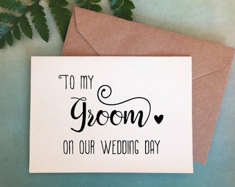 Bride To Groom Gift Etsy