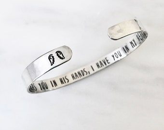 Memorial Bracelet, Grief Gift for Loss, Sympathy Gift Bracelet, Personalized Mom Dad Sister Brother Son Daughter Baby Husband