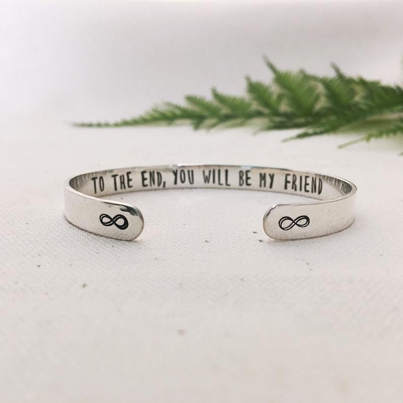 Bracelet For Best Friend Birthday Gift Cuff