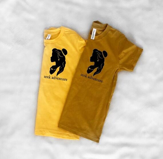 Yellow gold tee