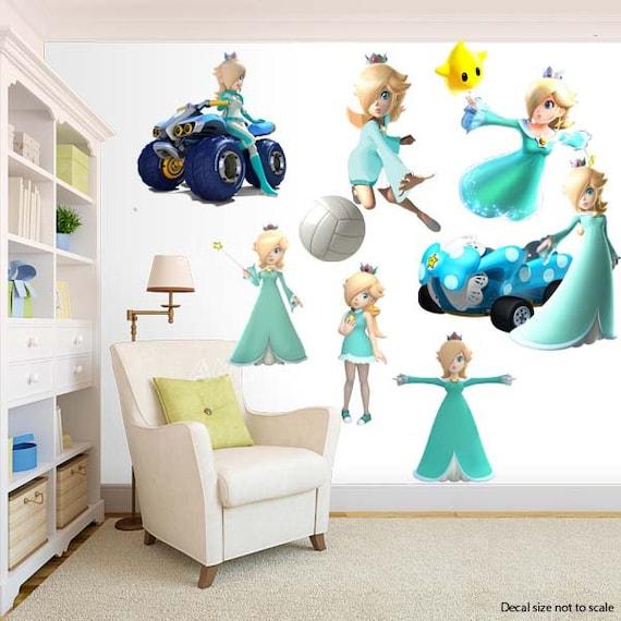 Princess Rosalina Super Mario Bros Wall Decal Room Decor Etsy