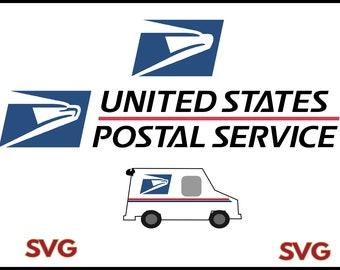us postal service logo svg