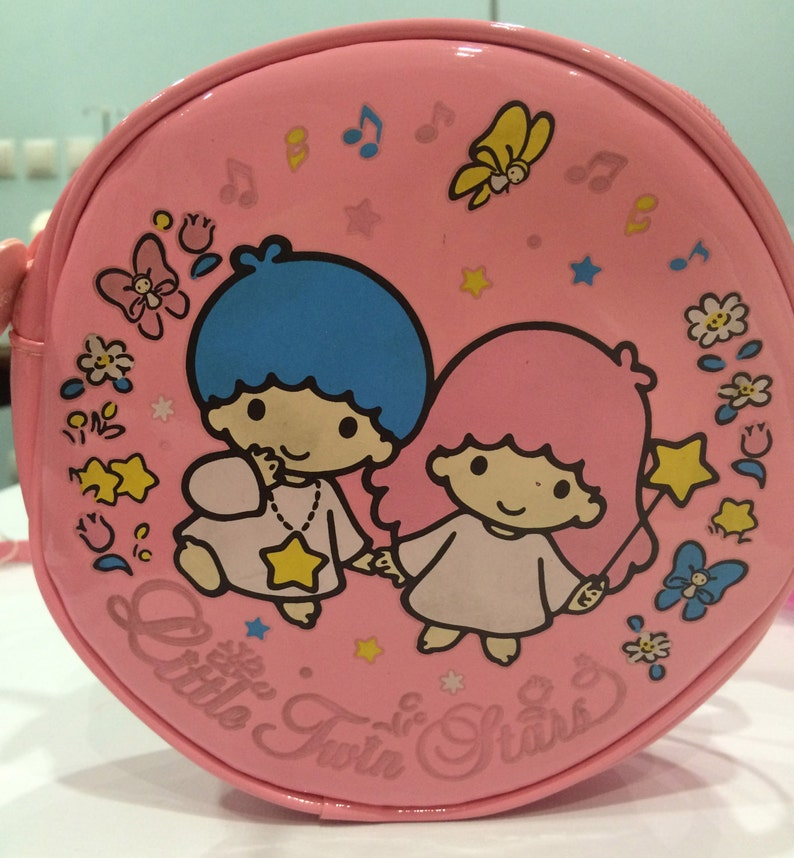 3d4a585503ef Vintage Little Twin Stars Sanrio bag made in Japan 1993