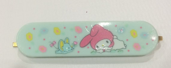 df1dd9194462 Vintage My MelodyHello kitty Sanrio hair pin made in Japan
