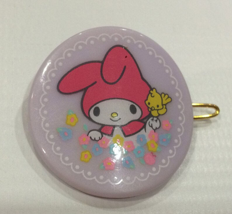 7782ae56e8f9 Vintage My Melody Sanrio hair pin made in Japan 1983