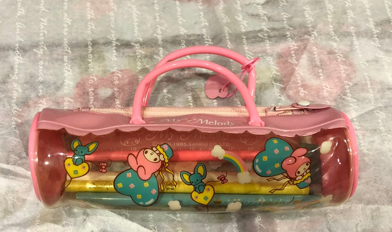 4f2249d14cb0 Vintage My Melody pencil case sanriomade in