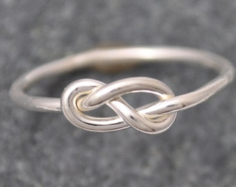 Elements Gallery, Infinity Knot Ring, Infinity Ring, knot ring, Silver Infinity Ring, Silver 925 Infinity Ring, popular intinity ring