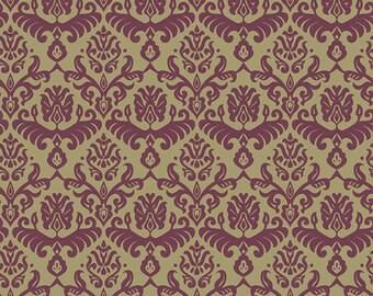 Traditions Bordeaux Hemp fabric