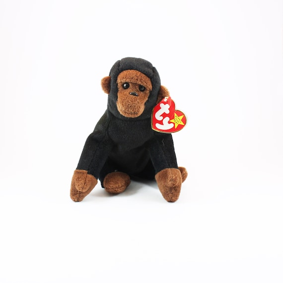 02c9fdc66dc Vintage Original CONGO Beanie Baby 1996 Mint Condition with