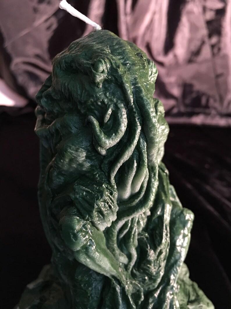 Cthulhu Ritual Candle Light of R'lyeh wax image 0