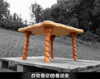 COFFEE TABLE LEGS, wood legs, side table legs, furniture legs, solid wood legs, branch wooden legs, coffee table base