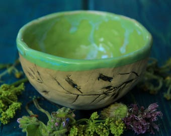 small green bowl ceramic sauce bowl green ceramic bowl dipping sauce bowl small serving bowl