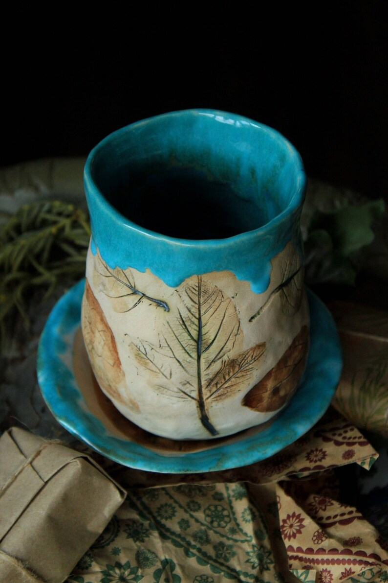 Türkis Bad-Accessoires set Keramik Badezimmer Set Türkis Wohnkultur  handgefertigte Keramik Seifenschale mit Kippschalter