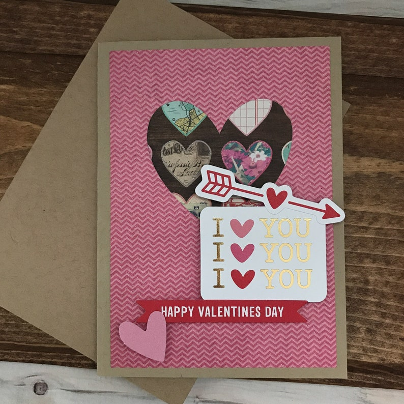 Happy Valentines Day Card I Love You Christian Religious Etsy