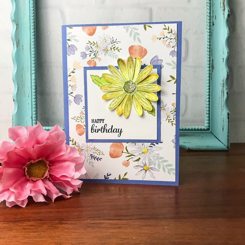 Daisy Happy Birthday Card For Her Wife