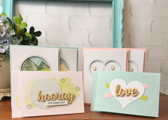 Assorted greeting cards box of cards for all occasions etsy image 0 m4hsunfo