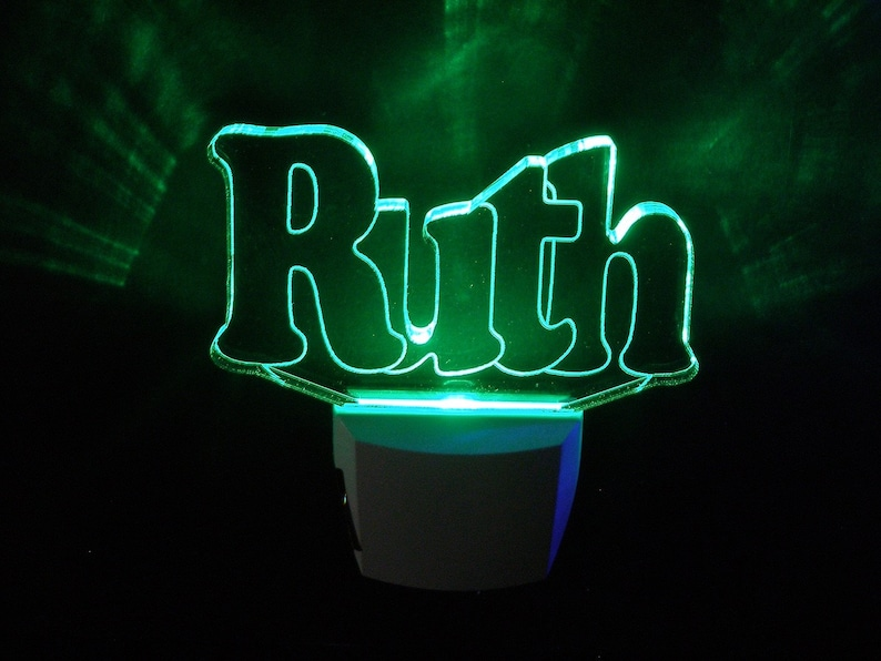 Personalized Night light  Names image 0