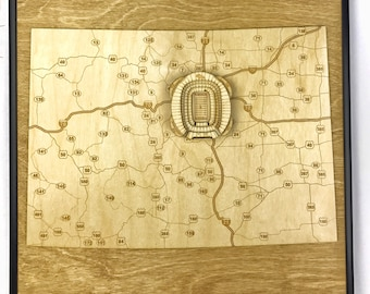 Stadium State Shape - Colorado, Denver (Sports Authority Field at Mile High)