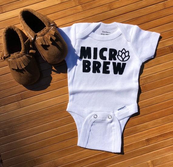 Micro Brew Onesie Preemie onesie Announcement onesie | Etsy