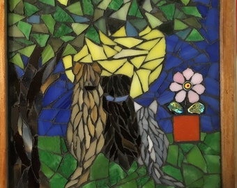 Three Friends -- Dogs and Cat Mosaic