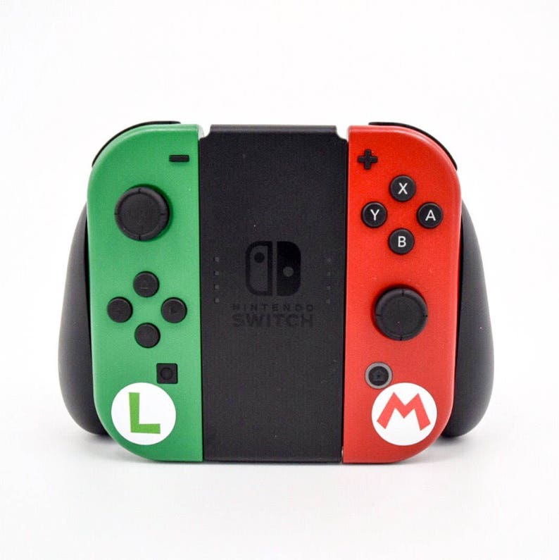 31731957ae2914 Custom Super Mario   Luigi Joy-Con