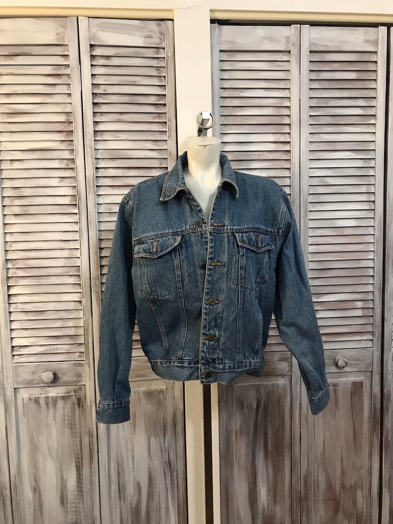 mid-size jeans jacket Men/'s vintage jacket jeans Jeans Sergeant Pepper Year 80 jacket