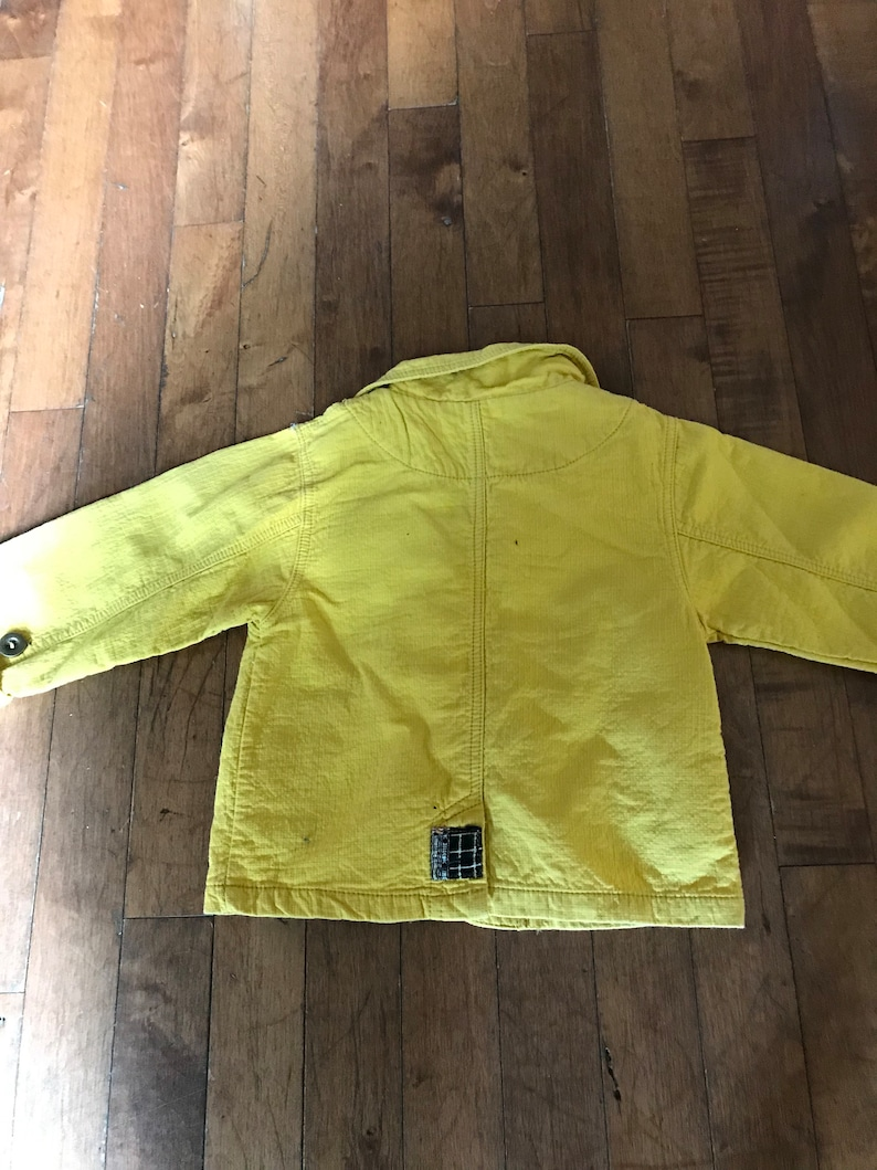 yellow size 12 months with patch boy Jacket