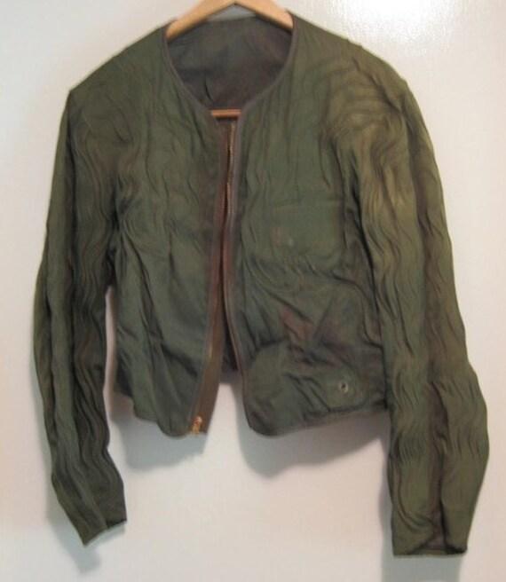 Vintage USAF U.S. Army Air Force flight Jacket lin