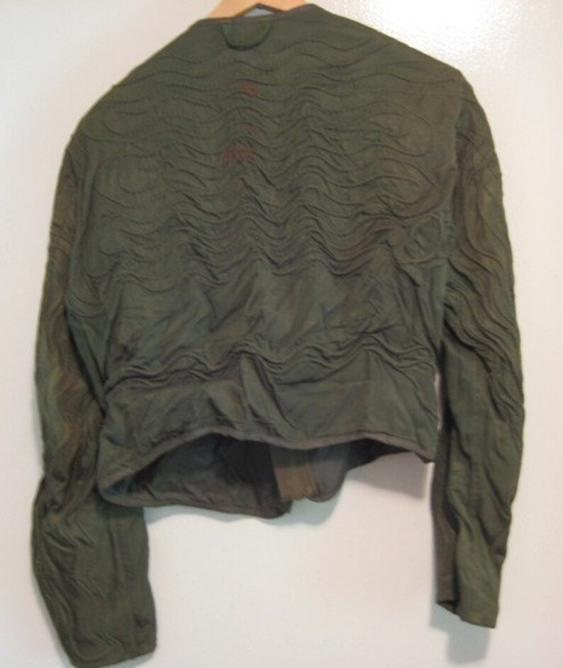 0e0abe8e9 Vintage USAF U.S. Army Air Force flight Jacket liner ( electric warmer) for  manning a bomber