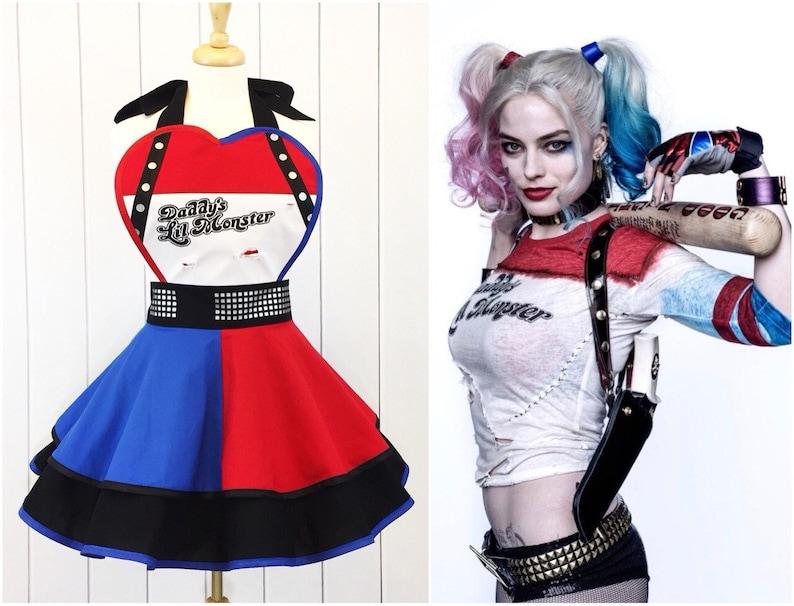 Harley Quinn Inspired Apron