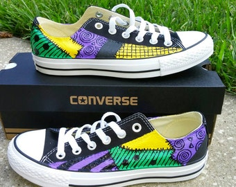 42065821414077 Broadway Hand Painted Low Tops