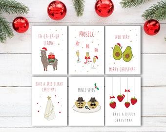 Christmas card set | Etsy