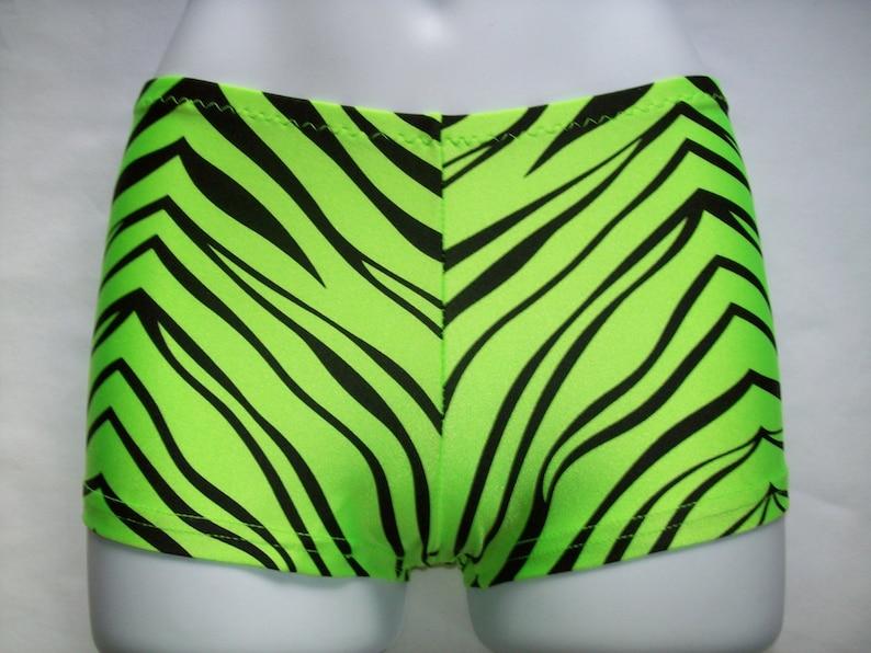 8df7d6e1b783e 9 Colors Zebra Tiger Booty Shorts Hot Boy Shorts Spandex Lycra | Etsy
