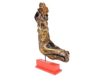 """Wood Sculpture """"Auenbach Buche"""" (unique specimen)"""
