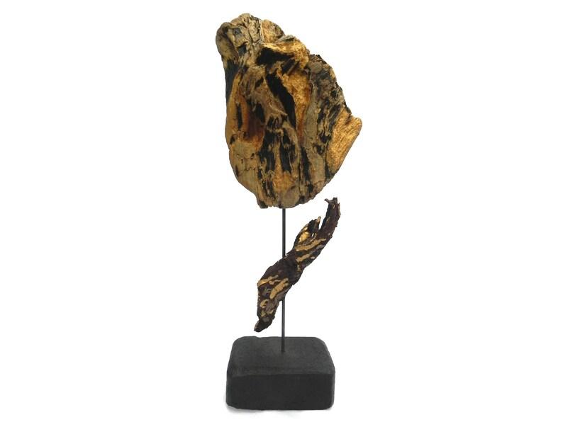Wooden sculpture Goldherz Unique copy image 0