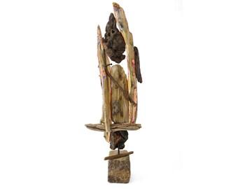 """Wooden Sculpture """"Nagelholz"""" (unique copy)"""